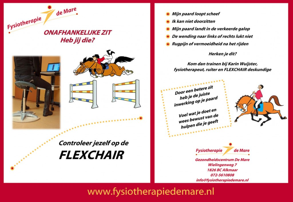 Flexchair ruitertraining